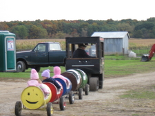 Halloween train rides.